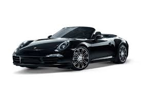 black porsche convertible 2017 porsche 911 carrera 4 black edition 3 4l 6cyl petrol manual