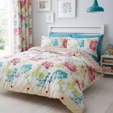 bedding set s v luxury korean floral bedding sets pink