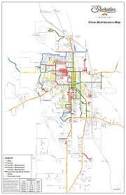 Wydot Map Streets U2013 City Of Sheridan Wyoming
