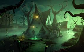halloween scene wallpaper add game wallpapers 12012 games television games