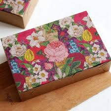 thick christmas wrapping paper flowers decoration cookie biscuit cake boxes candy party gift