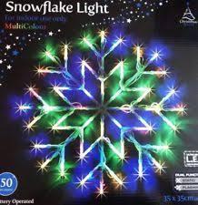 indoor christmas window lights snowflake indoor christmas lights ebay
