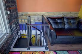 extend your home with a finished garage salter spiral stair
