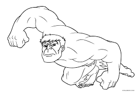 free printable hulk coloring pages kids cool2bkids