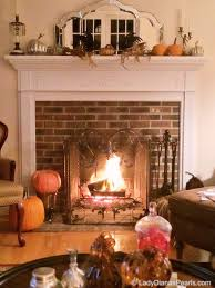 autumnal fireplace lady diana u0027s pearls