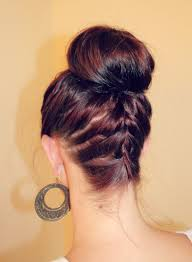 put your hair in a bun with braids how to ballerina bun ma nouvelle mode