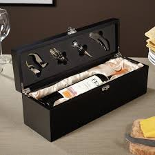 personalized box personalized wine box and tool kit