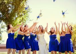 short royal blue bridesmaid dresses ipunya