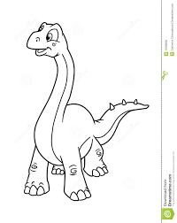 coloring pages dinosaur royalty free stock image image 15598006