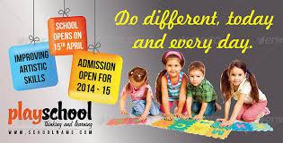 play school brochure templates play school education outdoor billboard by graphitemedia