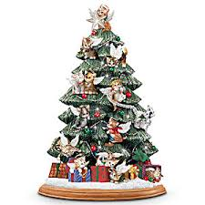 tabletop christmas tree cat illuminated tabletop christmas tree purr fect