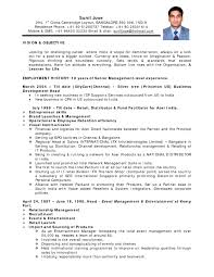 Good Resume Example by Hr Executive Resume Sample In India Free Resume Example And
