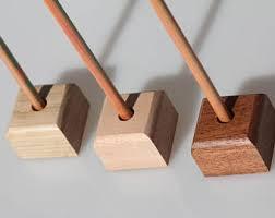 Desk Pencil Holder Wood Pencil Holder Etsy