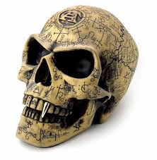 skull decor skull decor omega skull carved alchemists skull decor alchemy
