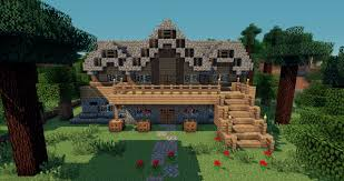 old house medieval old house minecraft project