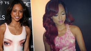 karrueche hair color chris brown s girlfriend karrueche tran changes up her look