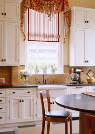 Window Treatments In Kitchen - single window treatment ideas