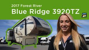 Blue Ridge And Cardinal Fifth Wheels By Forest River For 2017 Forest River Blue Ridge 3920tz Walkthrough At Meyer S Rv