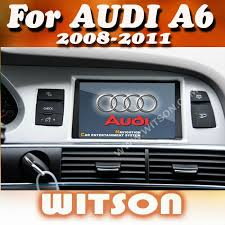 audi a6 tv witson car dvd with gps bluetooth tv for audi a6 buy car dvd