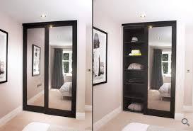 Sliding Glass Mirror Closet Doors Mirror Design Ideas Aspen Solid Mirror Wardrobe Doors Wood Range