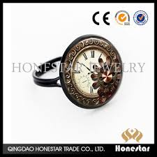 vintage rings aliexpress images Vintage clock rings aliexpress hot sale punk finger ring fashion jpg