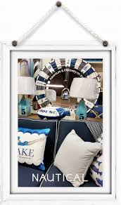 Nautical Home Decor Canada Blue Ocean Lighthouse Muskoka Style Furniture And Cottage Decor