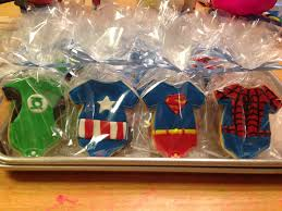 superhero baby shower cookies laura lacoste flickr
