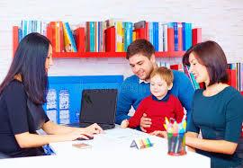 famille bureau famille dans le bureau au professionnel image stock image du