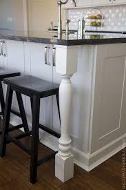ebony colonial windham door kitchen island with overhang