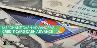 Credit Card Signs For Businesses Merchant Cash Advance Vs Credit Card Cash Advance By Excel Capital
