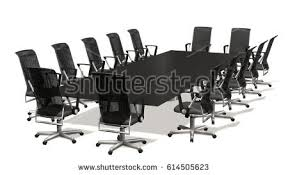 Boardroom Meeting Table Boardroom Meeting Conference Table Office Chairs Stock