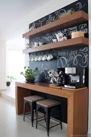 Chalkboard Kitchen Backsplash Antes Y Despues Coffee Bar Un Rincon Para El Cafe Bar And Coffee