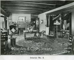 Arts And Crafts Interior Arts And Crafts Interior Bungalow Living Room 1910 Flickr
