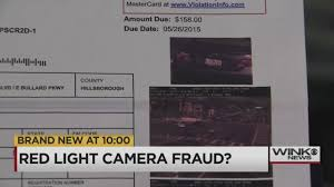 Traffic Light Ticket Red Light Ticket Fraud Or Mistake Naples Couple Wants Answers