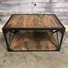wood store x frame metal wood coffee table rustic furniture outlet