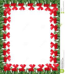 free christmas border templates christmas cards
