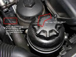 2002 bmw 745i transmission this atf fluid leak around the reservoir cap is really annoying me
