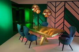 Tom Dixon Dining Table Mass Dining Table Brass Dining Tables From Tom Dixon Architonic