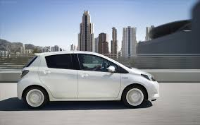 toyota yaris 2013 toyota yaris hybrid 2013 widescreen car wallpapers 14 of