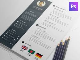 free modern resume templates downloads free resume template by al amin mir dribbble