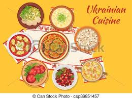 cuisine dinner cuisine national dinner dishes sign clipart