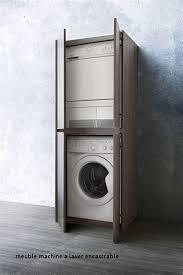 lave linge dans la cuisine meuble machine a laver encastrable lave linge cuisine la