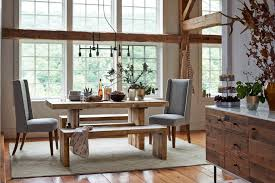 On Set A Dreamy Catskills Farmhouse Front Main - West elm dining room table