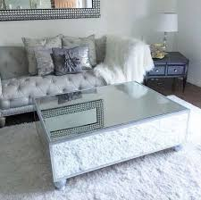 silver mirrored coffee table mirror tables best 25 mirrored coffee tables ideas on pinterest glam