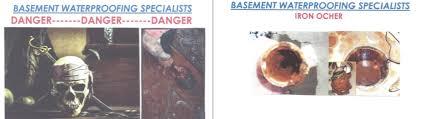 Basement Waterproofing Specialists - iron ochre remover u2013 bws distributors