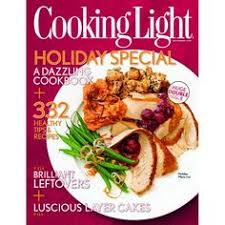 cooking light subscription status cooking light 1 year auto renewal magazine subscription southern