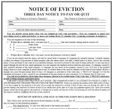 doc 585610 legal forms eviction notice u2013 tenant eviction notice