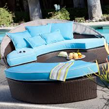 Outdoor Wicker Daybed Belham Living Rendezvous All Weather Wicker Sectional Daybed