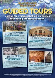 december and january tour dates blackpool heritage guided tours