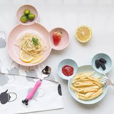 cuisine mickey mickey wheat straw kitchen bowl eco healthy